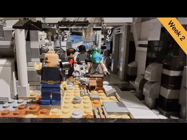 Lego Star Wars Ring of Kafrene Moc | Folge 2 | Erste Stadtbewohner | Brickstory Moc Contest