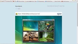 Nspaces- funkcje i budowa programu do tworzenia wirtualnych pulpitów.