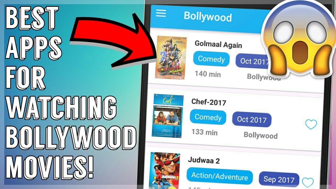 online hollywood movie watching app