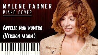Mylène Farmer - Appelle mon numéro - Piano Cover