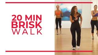 Download 20 Minute Brisk Walk | Walk at Home Workouts