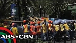 TV Patrol: Welcome arch ng APEC Summit, bumagsak