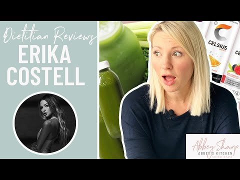 Dietitian Reviews Model ERIKA COSTELL What I Eat In A Day