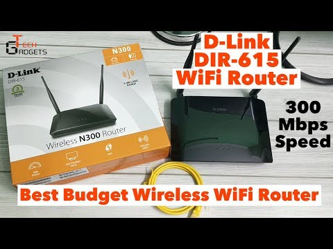 D-LINK DIR-615 Wireless WIFI Router Setup | Best Budget WiFi Router With Dual Antenna.