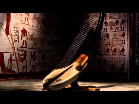 Egyptian Harp of Old Kingdom