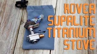 Kovea Supalite Titanium Stove