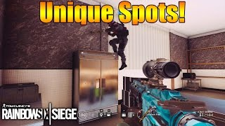 Unique Spots and Angles! | Rainbow Six Siege