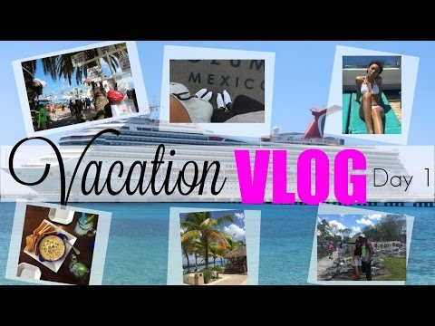 TRAVEL VLOG 1 - DAY 1 of our Vacation | Brittany Daniel