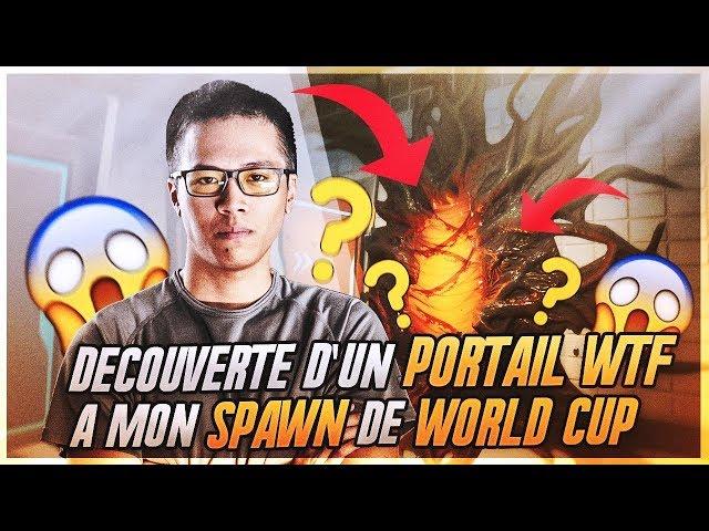 DECOUVERTE D'UN PORTAIL WTF A MON SPAWN POUR LA WORLD CUP