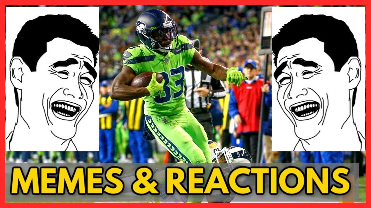 Los Angeles Rams Vs Seattle Seahawks Memes Reactions Nfl 2019 Week 5 Youtube