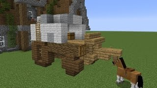 Building with Grian - Horse Cart