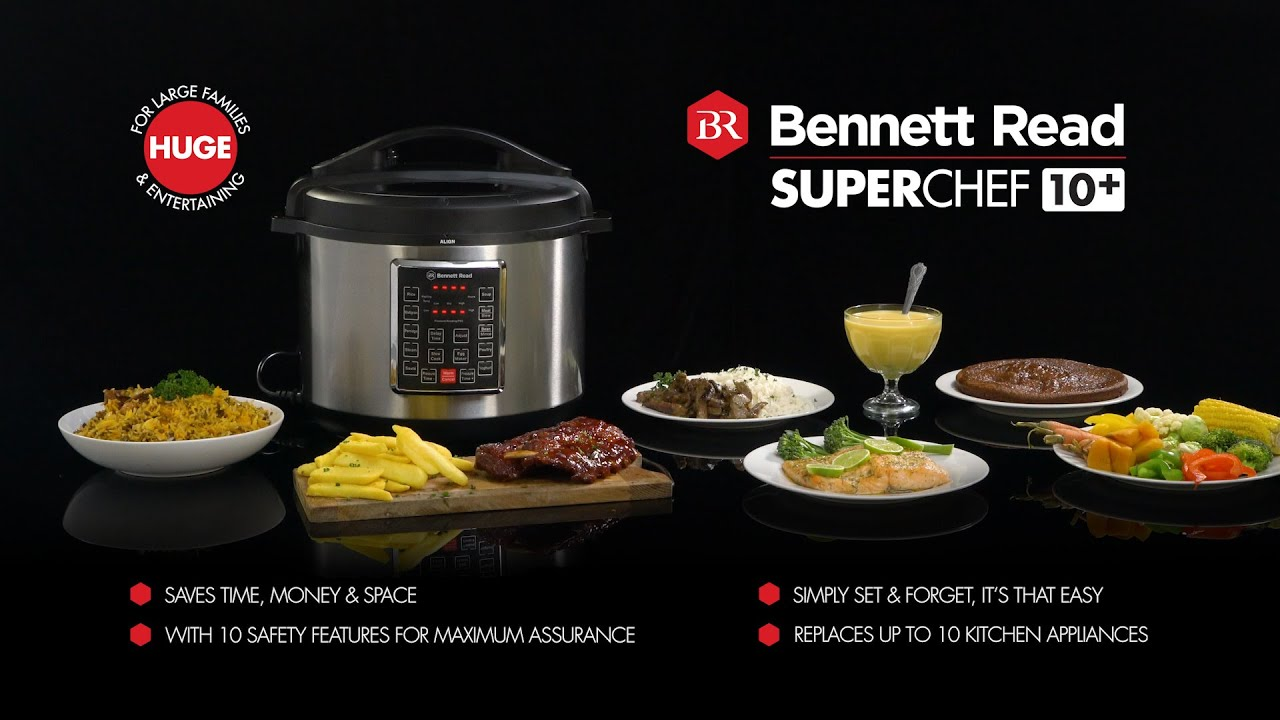 Bennett Read Super Chef 10 Plus Tevo