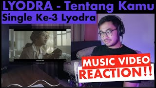 Download lagu MV REACTION! LYODRA - Tentang Kamu (Official Music Video) | Rizky Haeruman