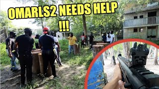 PAINTBALL WARS !!! Getting Lit Up With Paintballs !!!!! SEND HELP !!!!!