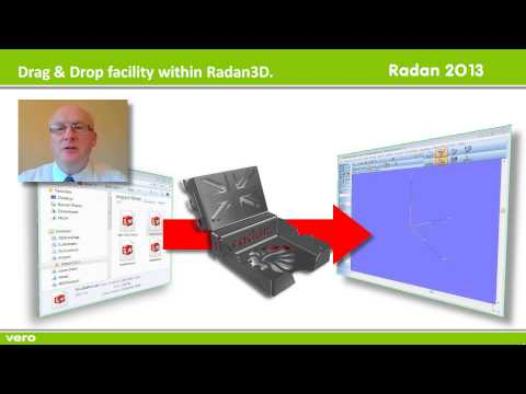 Radan 3D Drag and Drop