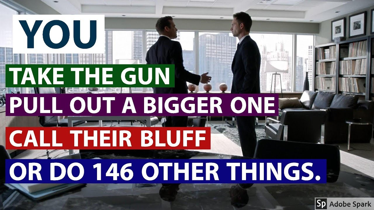 suits harvey specter office. Suits Harvey Specter And Mike Ross A Gun To Your Head | Best Tv Moments Office