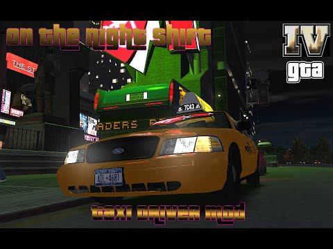GTA IV, Driving a cab, On The Night Shift