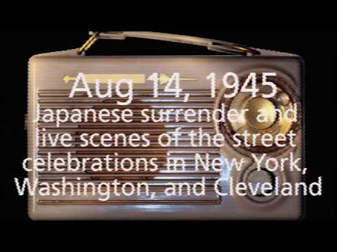 Japanese Surrender 1915 To 1930 News Radio WWII News August 14, 1945