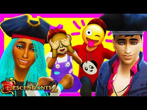 DESCENDANTS 2 Sims 4 (Ep 34) UMA AND HARRY HAVE TWINS?! 👶 Disney's Descendants