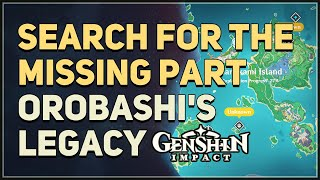 Search For The Missing Part To Repair The Ward Genshin Impact