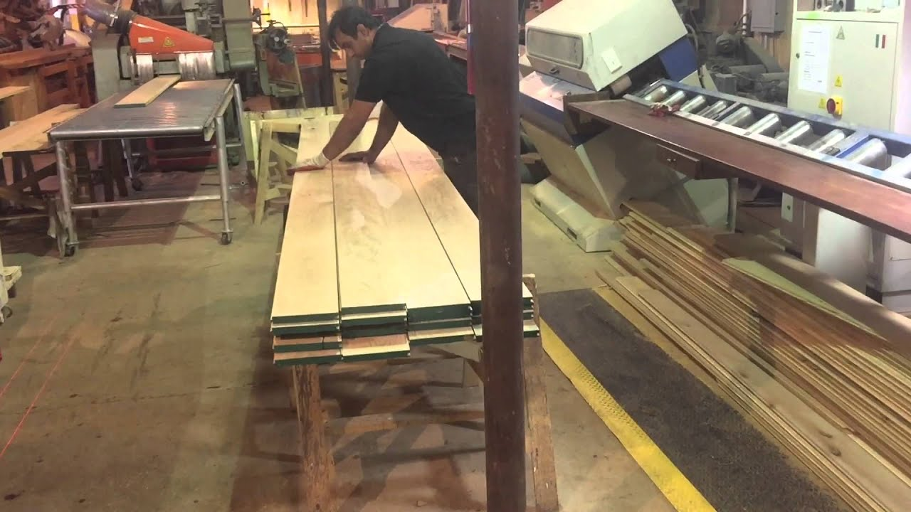 Soliosmillwork Production Line Of Hardwood Floor 8 White Oak Plank Long Length
