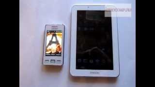 видео Как подключить 3G модем к Android планшету? Проще простого