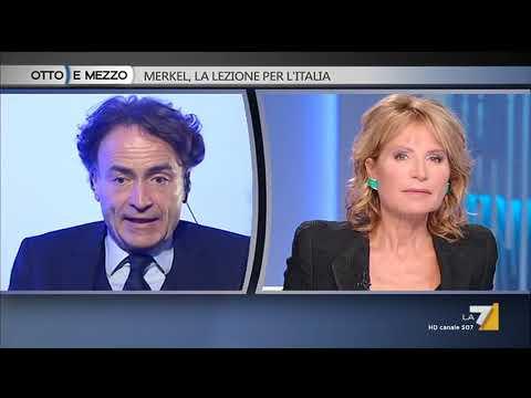 Otto e mezzo - Merkel, la lezione per l'Italia (Puntata 25/09/2017)