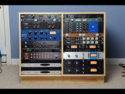 How To Build A Diy Double 16u Studio Rack Youtube