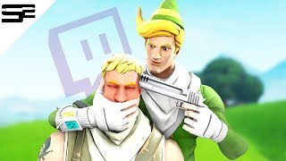 KILLING Twitch Streamers with CODENAME ELF (with reactions) in Fortnite