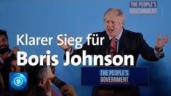 Großbritannien nach der Wahl: Absolute Mehrheit für Konservative