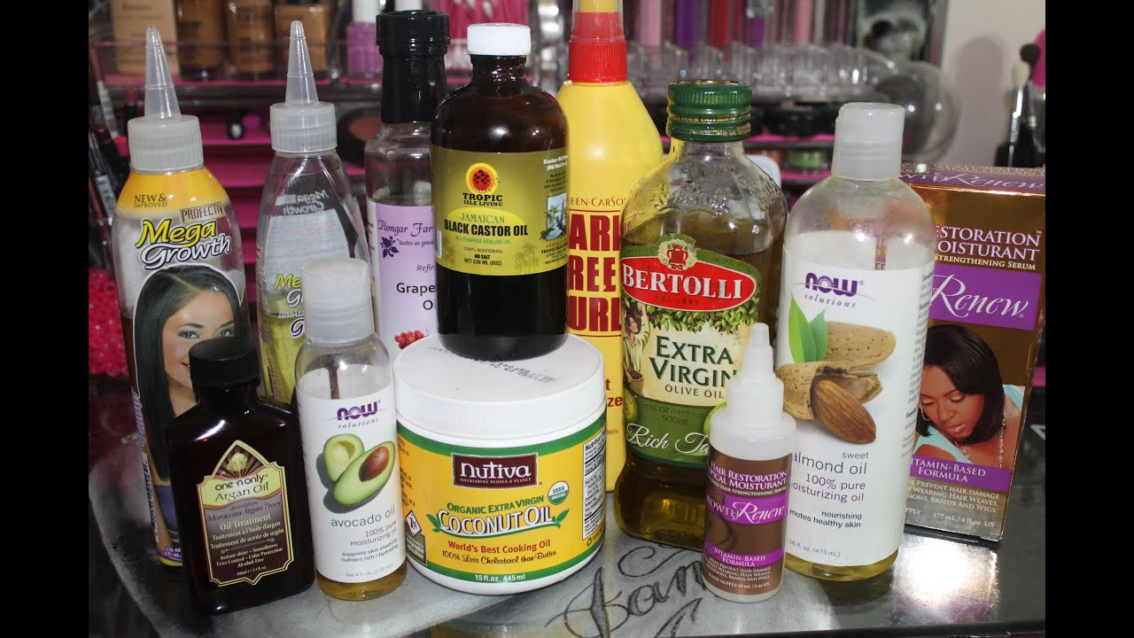 All Natural Hair Oil Blends