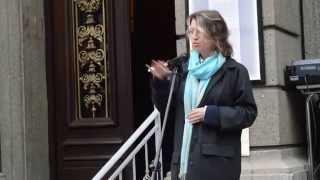 Протест на Столична библиотека -  Юлия Спиридонова-Юлка - 24 ноември 2015  - 6