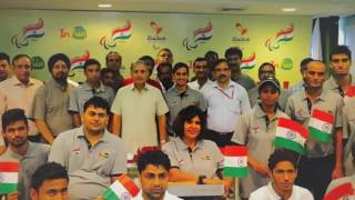 Bid farewell Paralympic India Team - Rio 2016