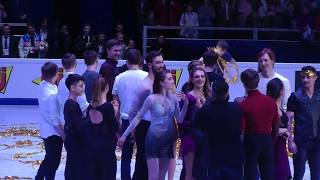 Финал 2 часть. Показательные выступления. Чемпионат Европы 2018