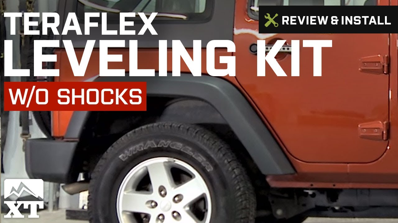 Jeep Jk Leveling Kit >> Jeep Wrangler Teraflex Leveling Kit w/o Shocks (2007-2016 JK) Review & Install - YouTube