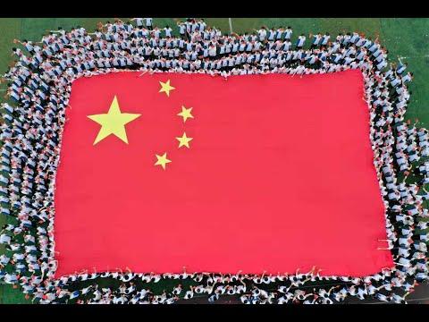 Chinese Take Selfies With National Flag  CCTV English