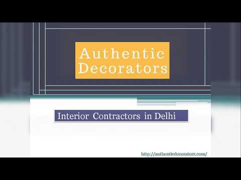 Interior Contractors in Delhi