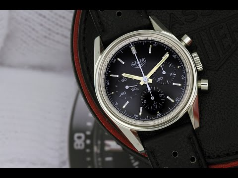 Tag Heuer CS3111 CS 3111 3111 Carrera 1964 Heuer Re Edition SS