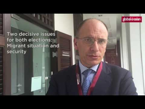 Interview with Enrico Letta