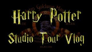 Harry Potter Studio Tour VLOG - Meeting Mrs Norris, Crookshanks, Hedwig and Fang