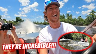 FIRST WATER TEST In Our ROTAX Supercharged Hand Built Mini Jet Boats!!! (They Actually Work)