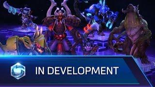 In Development – Dehaka, Shogun Artanis, and more!