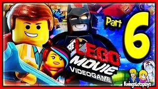 LEGO Movie Videogame Walkthrough Part 6 Batman Cuckoo Land