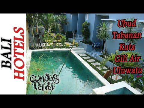 Bali Hotel Tour - Where to Stay in Ubud, Kuta, Gili Air, Uluwatu Review