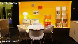 Imm Cologne 2017 | Dauphin Home - Jochen Ihring talks about Le Couleurs, based on Les Corbusier work