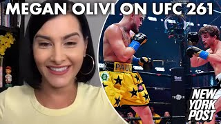 Megan Olivi: What it was like covering one of the wildest nights in UFC history | New York Post