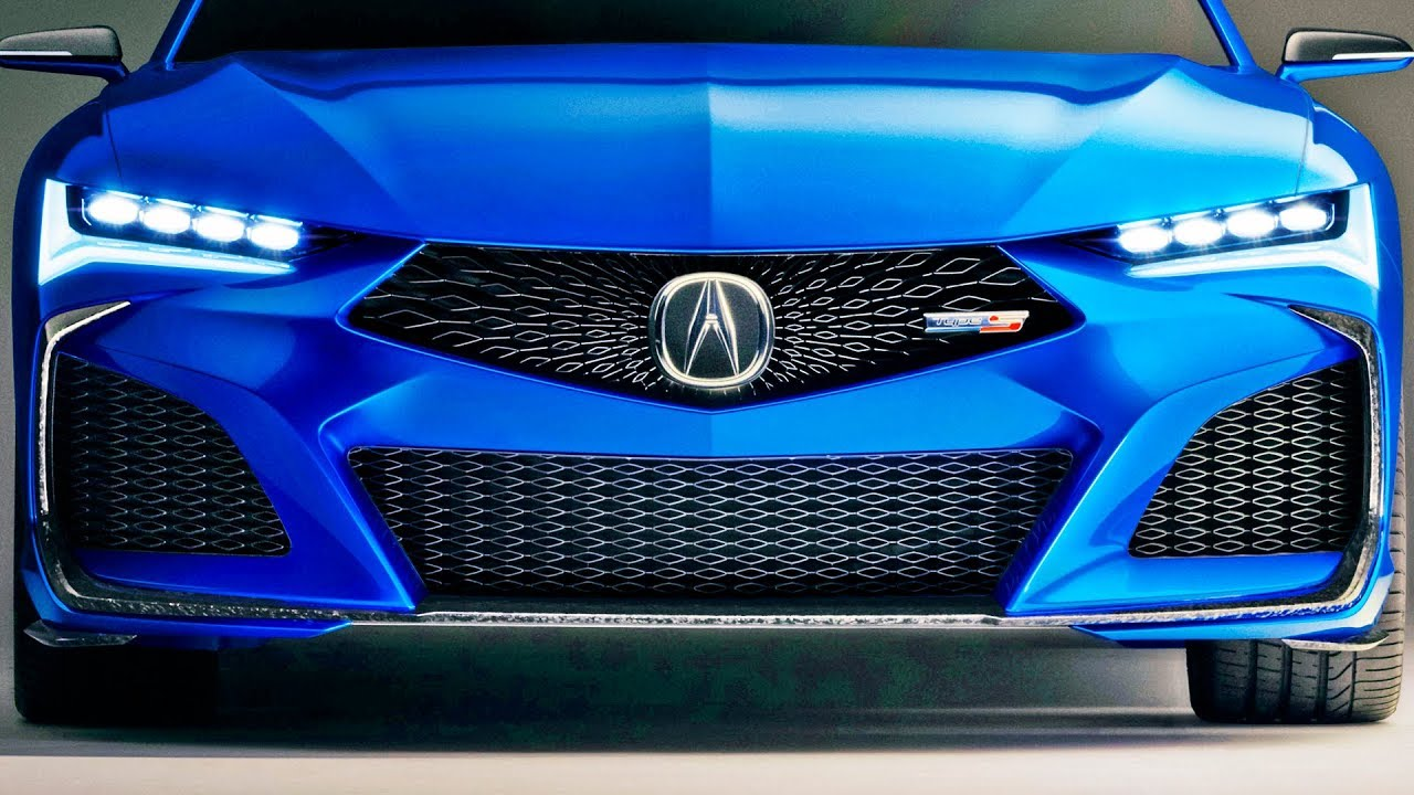 Acura Type S Concept Precision Crafted Performance
