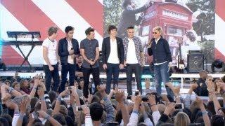 One Direction Gets Felt Up