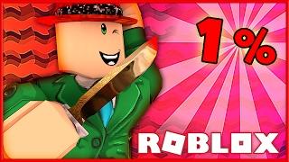 ONE PERCENT MURDERER! | Murder Mystery 2 | Roblox