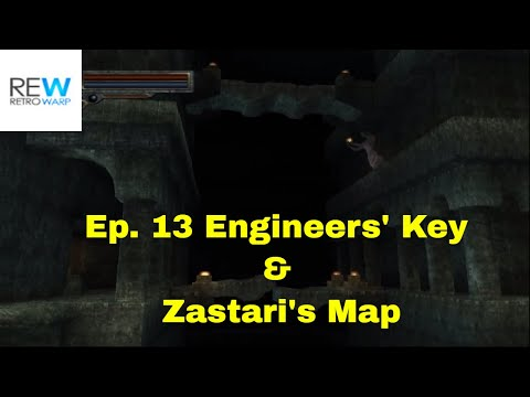 Kings Field IV: The Ancient City - Ep. 13 - Engineers' Key & Zastari's Map